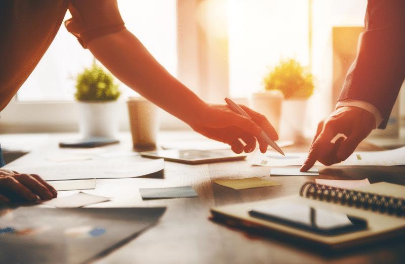 équipe collaborateurs collègues experts-comptables